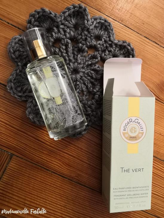 eau parfumée bienfaisante Thé Vert de Roger & Gallet