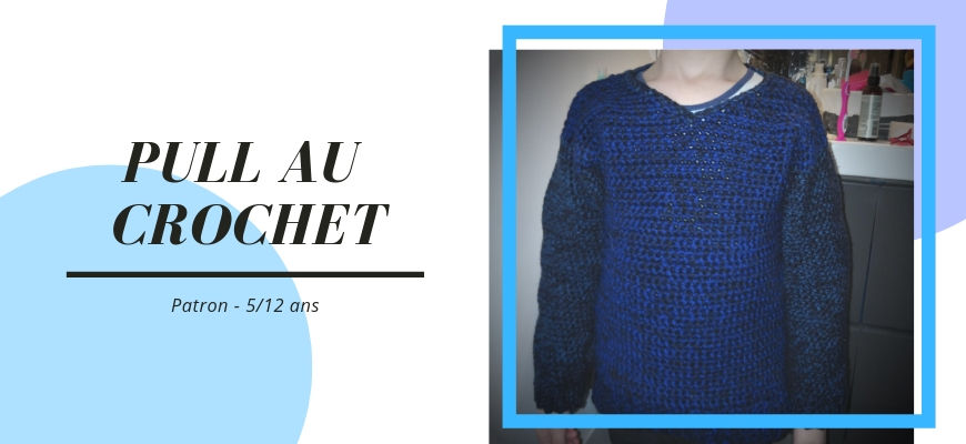 [Crochet] Le pull enfant par Hooked on homemade happiness + patron traduit