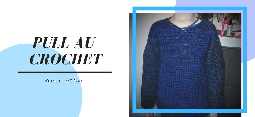 [Crochet] Le pull enfant par Hooked on homemade happiness + patron traduit