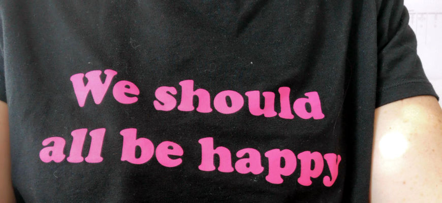 we should all be happy