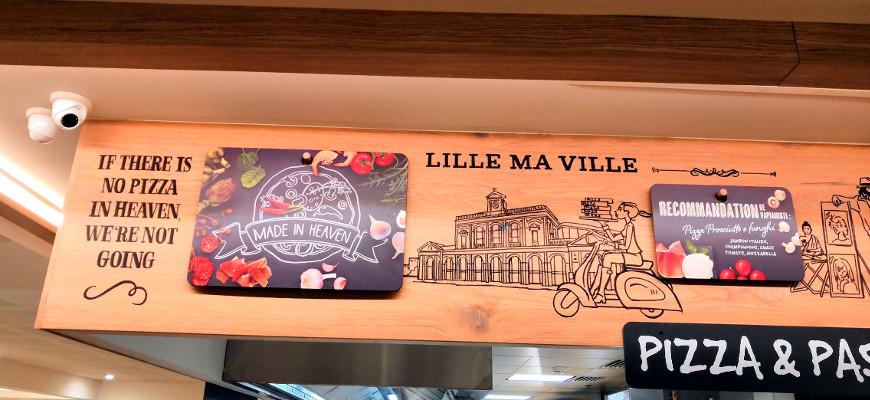 Nous sommes allés déjeuner chez Vapiano à Lille