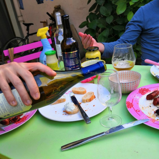 barbecue entre amis