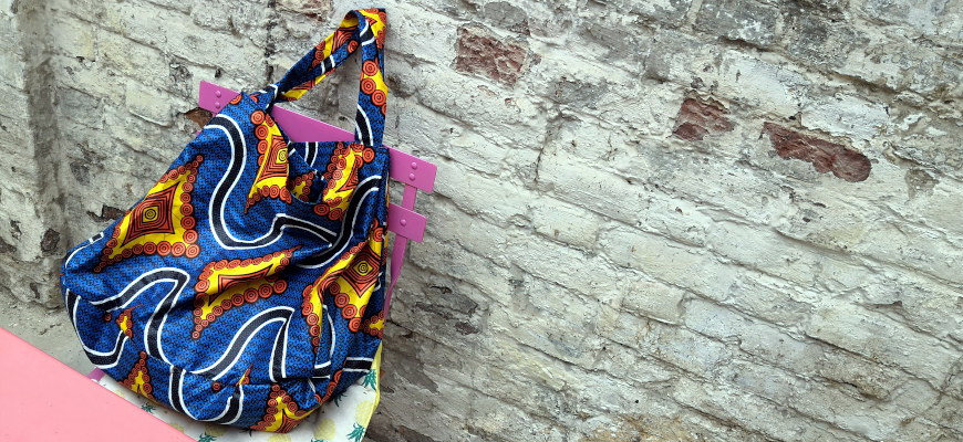 [DIY] Un sac de plage en wax