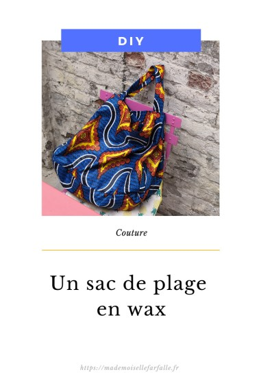 sac de plage en wax