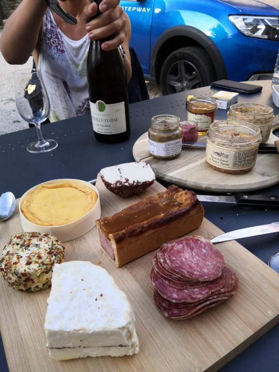soirée vin fromages