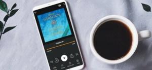café et livre audio