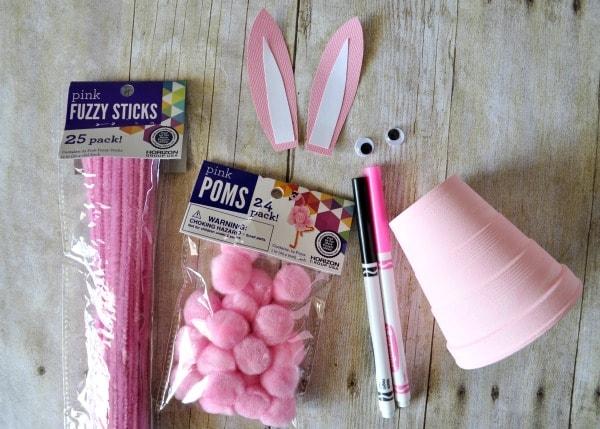 DIY lapin de pâques à faire avec les enfants