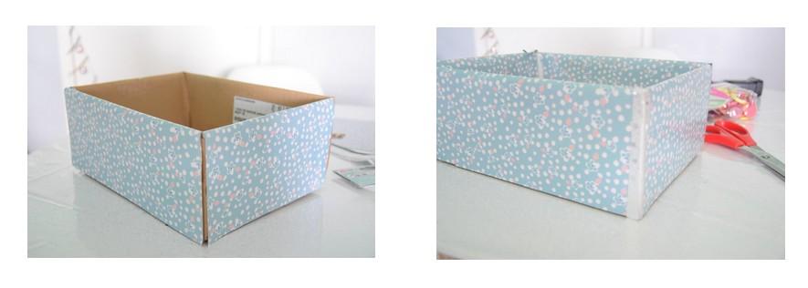 DIY facile rangement pour bureau avec des rouleaux de papier toilette