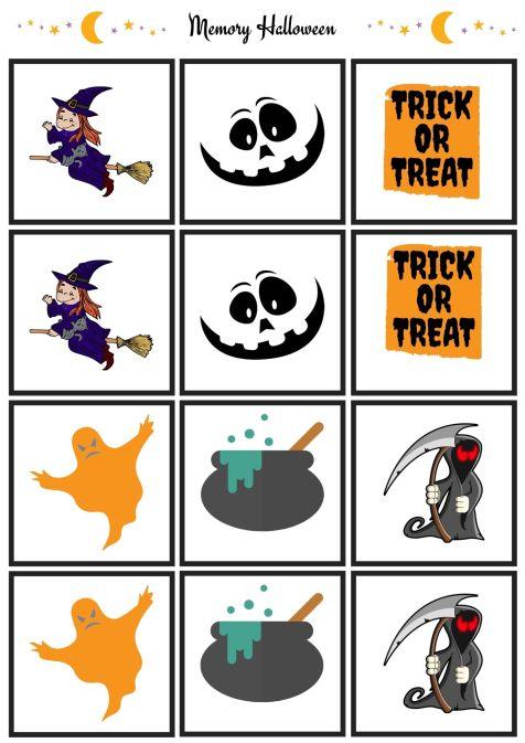 Memory Halloweenv