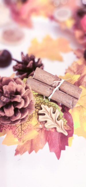 DIY couronne d'automne
