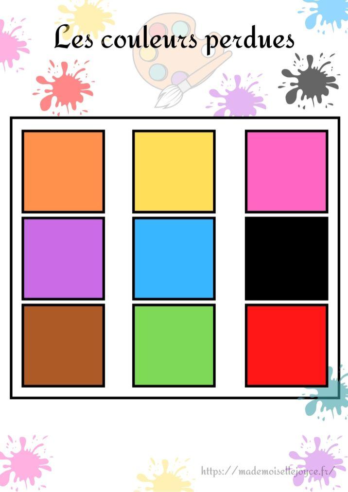 Apprendre les couleurs par le jeu