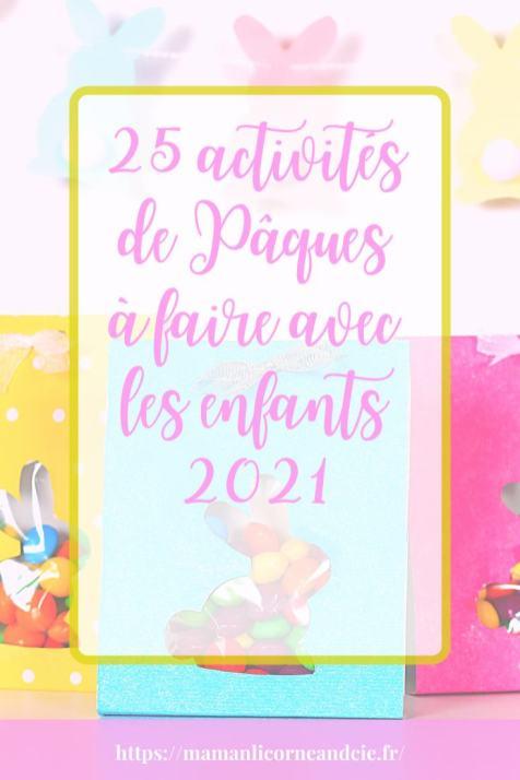 25 activités de Pâques à faire avec les enfants 2021