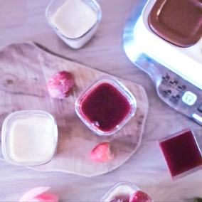 Recette cheesecake fruits rouges yaourtière