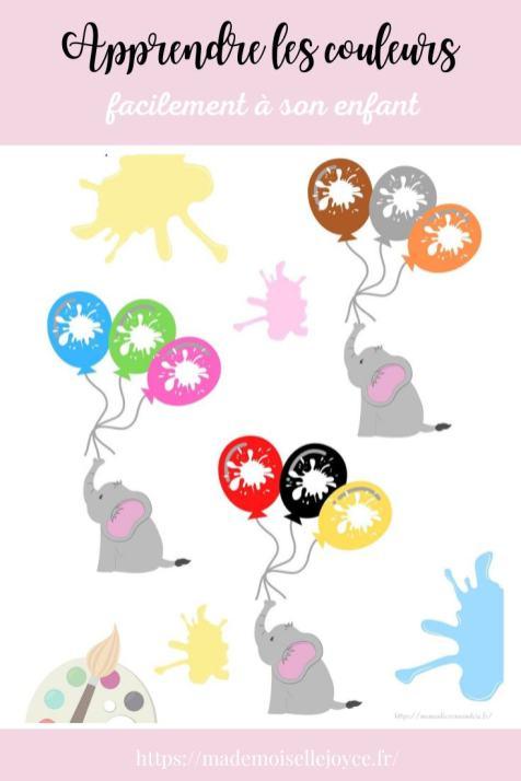 Apprendre les couleurs facilement à son enfant - Blog IEF