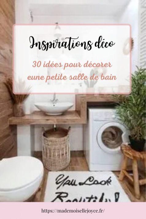 30 idées pour décorer une petite salle de bain