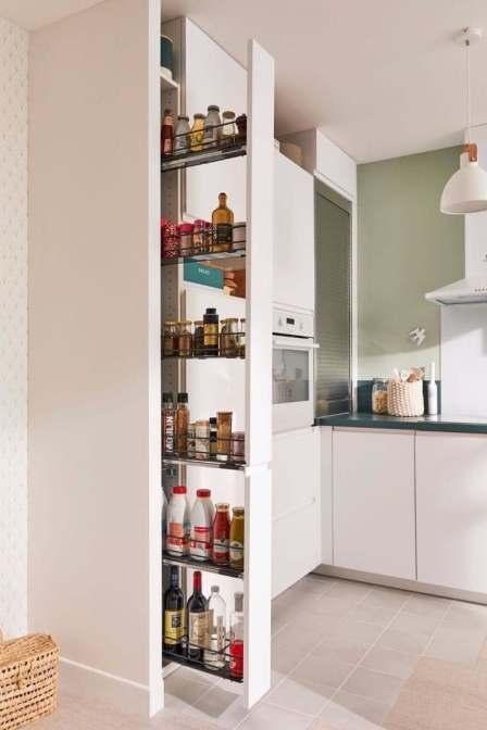 Astuces organisation gain de place petite cuisine