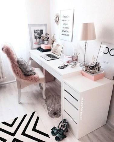 Bureau femme girly