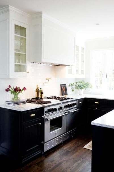 Comment décorer une petite cuisine noire