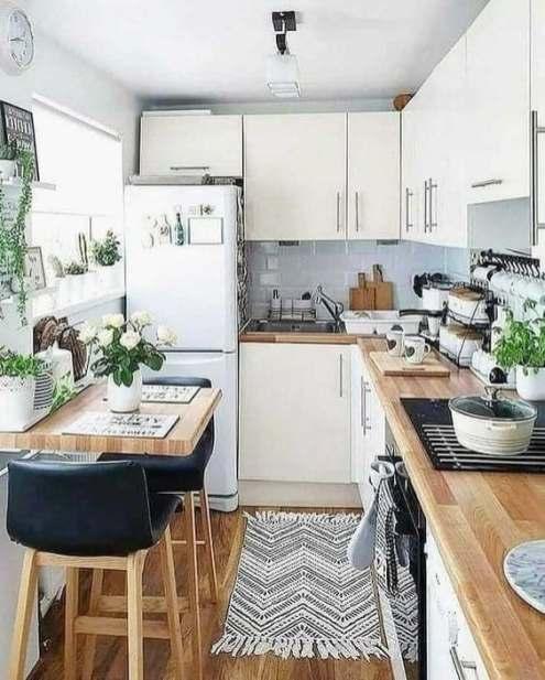 Cuisine blanche décoration et aménagement