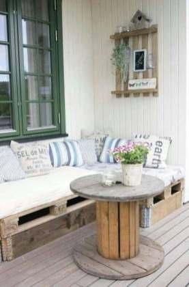 DIY salon de jardin en palettes