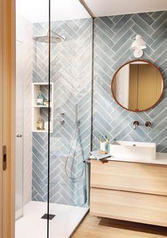 Décorer petite salle de bain avec douche