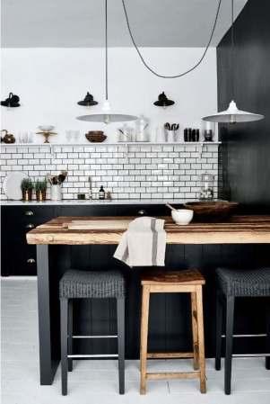 Décorer une cuisine noire