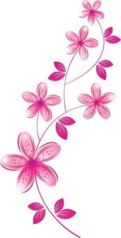 Idées tatouage cuisse femme dessin fleurs roses