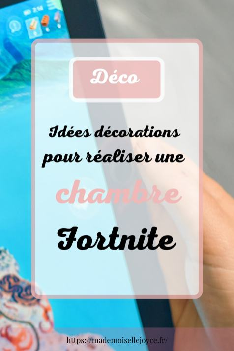 Idée décorations chambre Fortnite