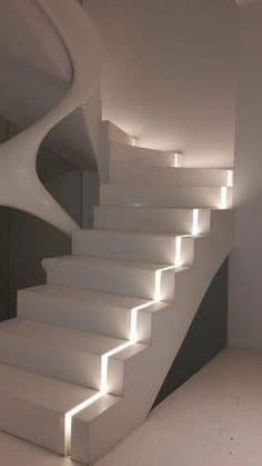 Installer bande LED sur escaliers