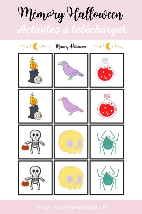 Jeux et activités Halloween à imprimer