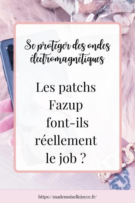Patchs Fazup avis