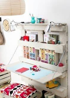 bureau en palettes