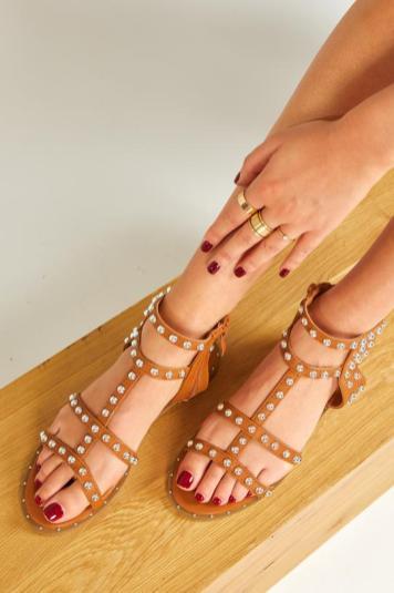 Sandales été 2021 clous