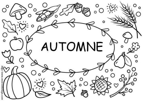 Coloriages d'automne à imprimer pour enfants et adultes