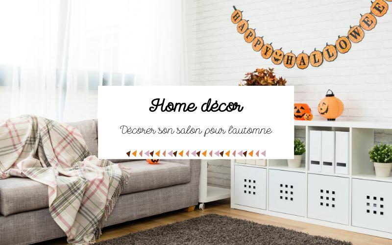 Décoration d´automne : indispensables et idées cosy et cocooning dans un salon