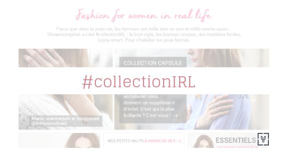 Showromprivé lance sa #collectionIRL !