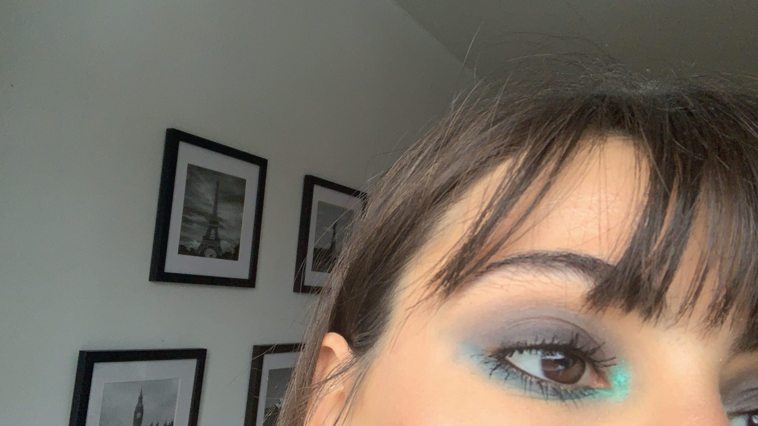blue smokey eye makeup 2.JPG