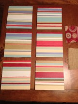 square canvas stripes