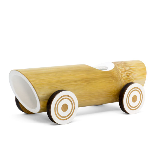 Bamboo toy car - Vintage