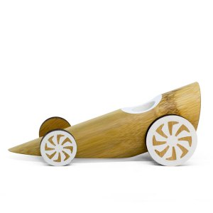 bamboo toy car - dragster