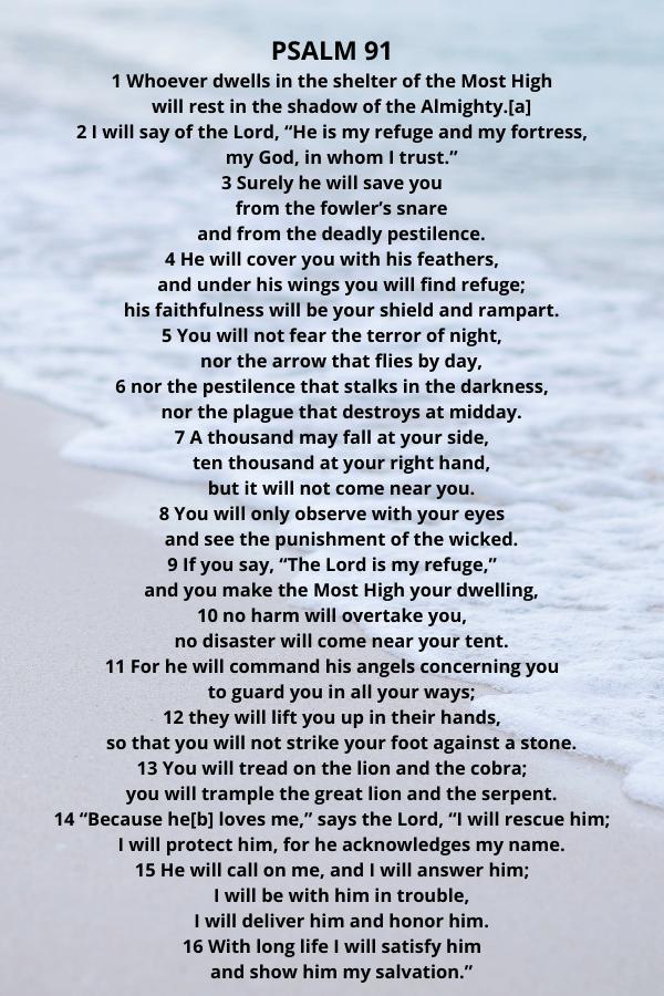 Psalm 91 verses