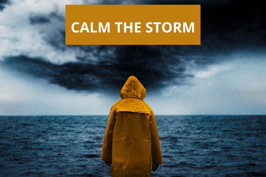 Please Lord, Calm The Storm