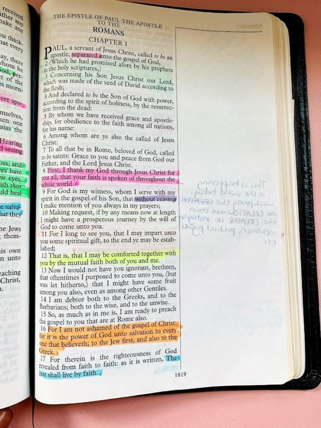Bible Study Chapter