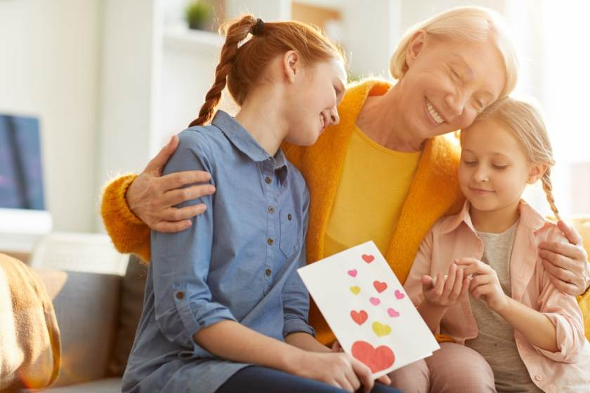 Gifts to Christian Grandparents