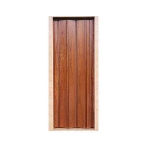 Puerta plegable en PVC