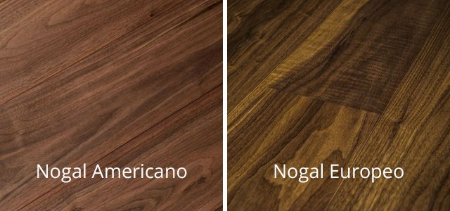 El color de la madera de nogal sus variantes y c mo - Color nogal americano ...