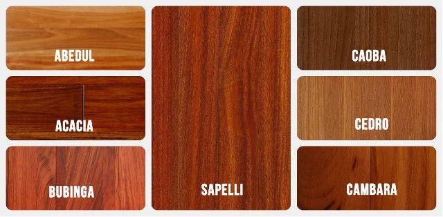 Maderas rojas cuesti n de color maderame - Como pintar puertas de sapeli ...