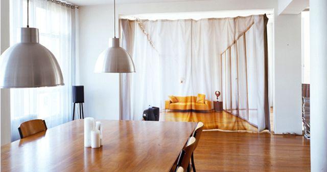 cortinas para separar ambientes