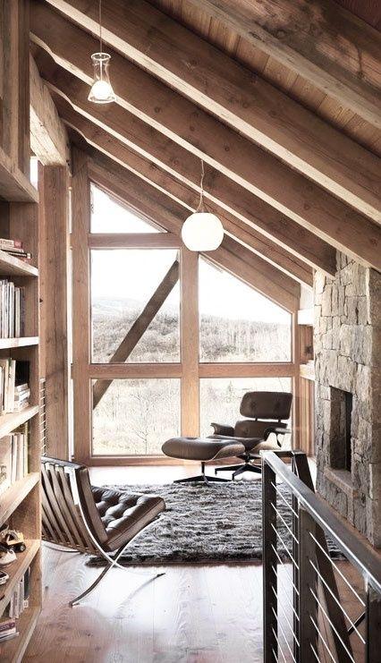 casa rustica en madera