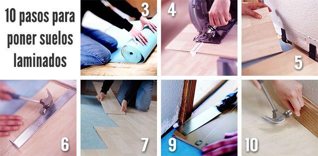 C mo poner suelo laminado los 10 pasos indispensables - Como colocar suelo ...